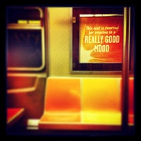 Photo taken at MTA Subway - A Train by Daniel C. on 1/12/2013