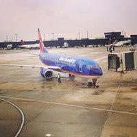 Photo taken at Baltimore/Washington International Thurgood Marshall Airport (BWI) by John M. on 2/1/2013