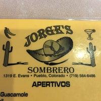 Photo taken at Jorge's Sombrero by AJ on 7/6/2015