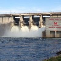 Photo taken at J. Percy Priest Dam by AJ on 7/9/2013