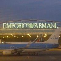 Photo taken at Milan Linate Airport (LIN) by mauro p. on 9/27/2012