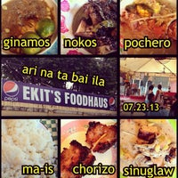 Photo taken at Ekits Food Haus (Pocherohan) by beyeeutiful on 7/23/2013