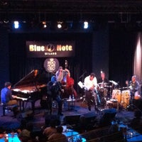 Photo taken at Blue Note by Andrea P. on 10/14/2012