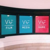 Photo taken at Vlaams Audiovisueel Fonds - Huis van de Vlaamse Film by Tatjana W. on 3/8/2016