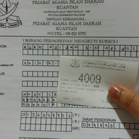 Photo taken at Pejabat Agama Islam Daerah Kuantan by AdilaMesely 9. on 2/1/2017