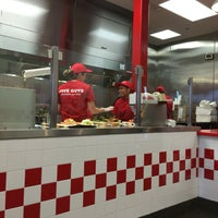 Photo taken at Five Guys by Gemma S. on 4/8/2016