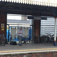 Photo taken at Fareham Railway Station (FRM) by Bruce S. on 6/28/2017