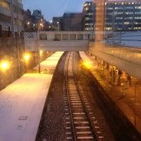 Photo taken at Aberdeen Railway Station (ABD) by Bruce S. on 1/23/2013