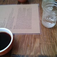 Photo taken at Barefoot Coffee Works by Mikhail V. on 9/19/2013