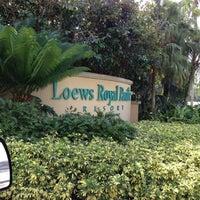 Photo taken at Loews Royal Pacific Resort at Universal Orlando by Felix A. on 11/10/2012