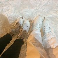 Photo taken at Каток у метро Ясенево by Александра К. on 12/17/2016