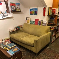 Photo taken at Adobe Books & Art Cooperative by Lily C. on 12/18/2017