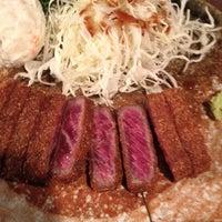 4/22/2013に😱が牛かつもと村 渋谷本店で撮った写真