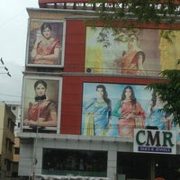 Photo taken at CMR silks and jewels by Aditya K. on 6/25/2013