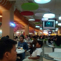Photo taken at Food Court Margo City by Amelia M. on 10/27/2012