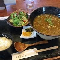 Photo taken at そば処 てん川 by 未知 on 6/27/2017