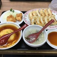 Photo taken at 餃子の王将 川西店 by 未知 on 5/25/2018