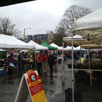 Photo taken at University District Farmers Market by Lonnie R. on 1/26/2013