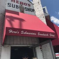 Photo taken at Hero's Submarine Sandwich Shop by Luis M. on 6/27/2017