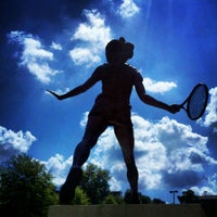 Photo taken at Halton-Wagner Tennis Complex by Eric J. on 9/21/2012