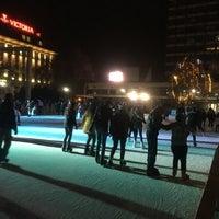 Photo taken at Ледена пързалка by Kostadin B. on 12/16/2017