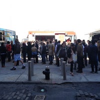 Photo taken at DUMBO Food Truck Lot by Karl S. on 4/25/2013