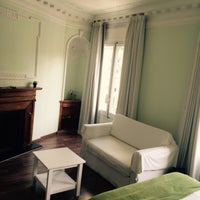 Photo taken at Hostal Petit Príncep by Thierry O. on 3/27/2015