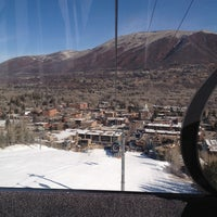 Photo taken at Silver Queen Gondola by Ryan E. on 3/14/2013
