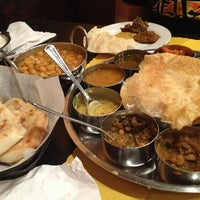 Photo taken at Bollywood Zing Indian Bistro by MeliDe on 3/16/2013