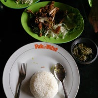 "Photo taken at Bebek & Ayam Goreng Sari Rasa ""Pak Ndut"" by William V. on 11/3/2013"