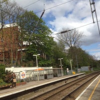 Photo taken at Hampstead Heath London Overground Station by turtle q. on 4/19/2014