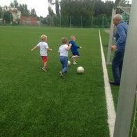 Photo taken at Стадион ЦСКА в Ватутинках by Lilya . on 8/3/2016