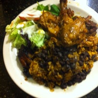 Photo taken at D'Mangu Restaurant by José A. L. on 4/30/2014