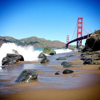 Foto scattata a Golden Gate Overlook da Alaine D. il 4/8/2013
