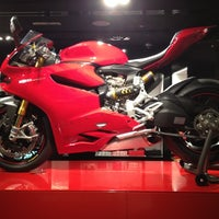 Photo taken at Ducati Caffe by Yas ™. on 11/2/2012