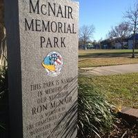 Photo taken at McNair Memorial Park by John E. on 1/28/2014