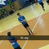 Photo taken at Sala Sporturilor by Andreea V. on 5/6/2016