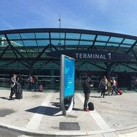 Photo taken at Station Aéroport Lyon Saint-Exupéry [Rhônexpress] by Al M. on 4/24/2017