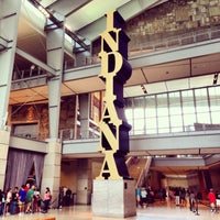 Photo taken at Indiana State Museum by Beau G. on 7/5/2013