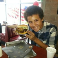 Photo taken at Fatburger by Yvette H. on 8/10/2014