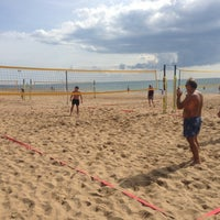 Photo taken at Beach Volleyball Camp Side by Дмитрий С. on 10/29/2012
