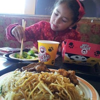 Photo taken at Panda Express by Paola R. on 6/10/2013