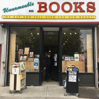 Photo taken at Unnameable Books by paddy M. on 4/30/2017