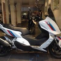 Photo taken at BMW Motorrad Paris by paddy M. on 1/4/2014