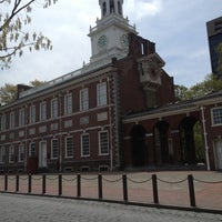 Photo taken at Independence Hall by Mike M. on 4/28/2013