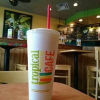 Photo taken at Tropical Smoothie by Bill M. on 7/17/2015