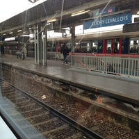Photo taken at Gare SNCF de Clichy Levallois by Hugues M. on 2/14/2013