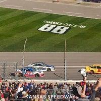Photo taken at Kansas Speedway by Scott K. on 10/22/2017