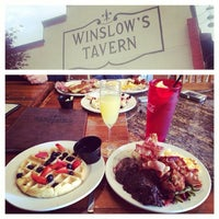 Photo taken at Winslow's by Brandon S. on 3/2/2014