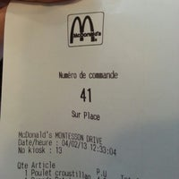Photo taken at McDonald's by Michaël T. on 2/4/2013
